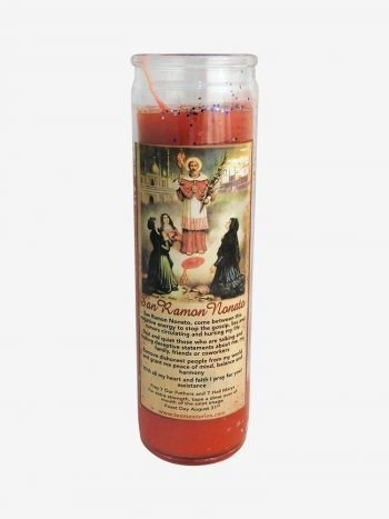 Saint Raymond Candle