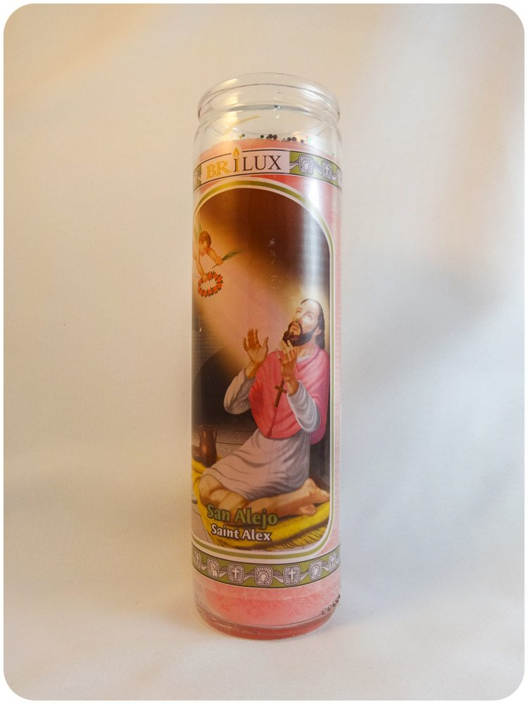 Saint Alex Candle / San Alejo Candle
