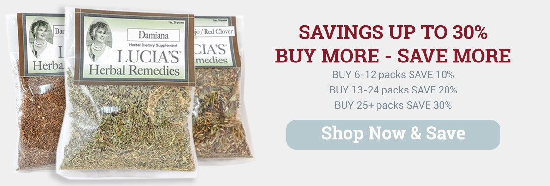 Lucias Herbal Teas - Savings up to 30%