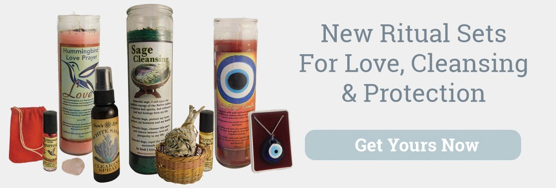 New Ritual Sets for Love protection and cleansing