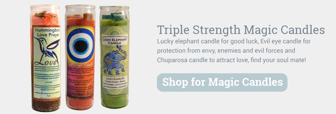 Triple Strength Magic Candles