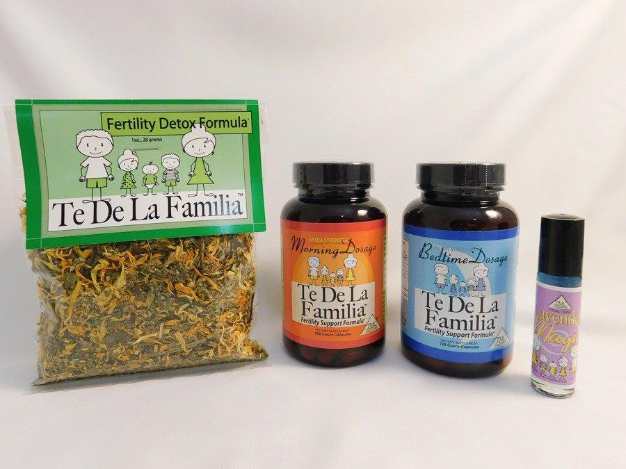 Female fertility herbal capsules program