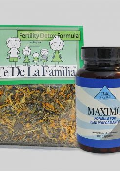 Male fertility herbal capsules program