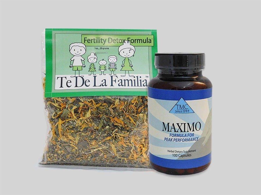 Male fertility herbal capsules program