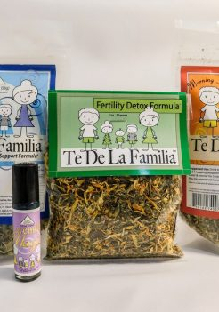 Te de la Familia female fertility herbal tea program