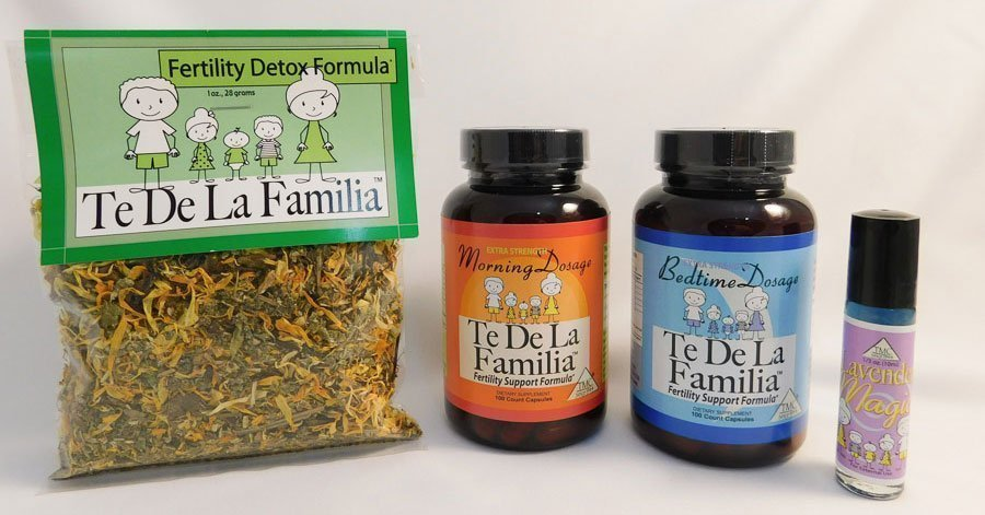 Te de La Familia female fertility herbal capsules program