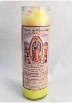 Guadalupe health candle (triple strength candle)