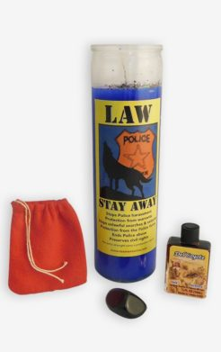 Law stay away ritual set