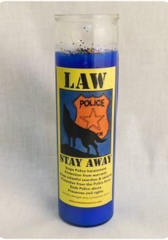 Law stay away candle (triple strength candle)