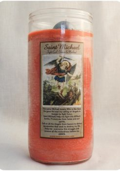 SAINT MICHAEL CANDLE / SAN MIGUEL CANDLE jumbo candle