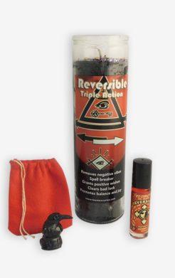 Reversible good luck ritual set
