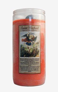 Saint Michael / San Miguel Jumbo Candle