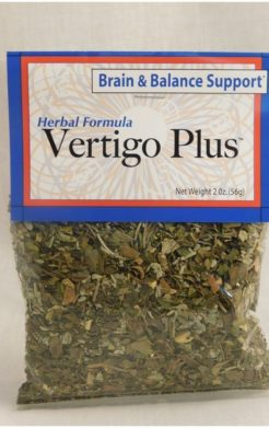 Vertigo herbal tea formula