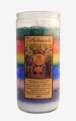 7 Archangels Jumbo Candle / Vela 7 Archangeles