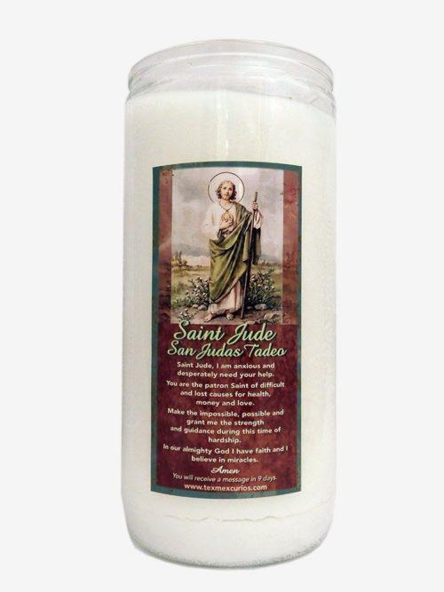 Saint Jude Jumbo Candle