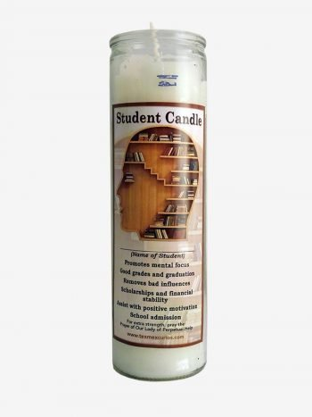 Student Candle Triple Strength Candle