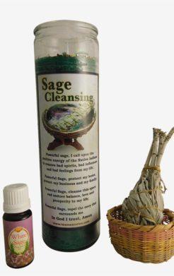 Sage Cleansing Ritual Set