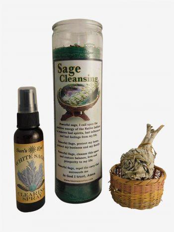 White Sage Cleansing Ritual Set