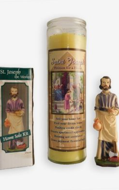 Saint Joseph Home Ritual Set