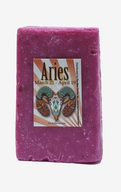 Aries Zodiac Soap