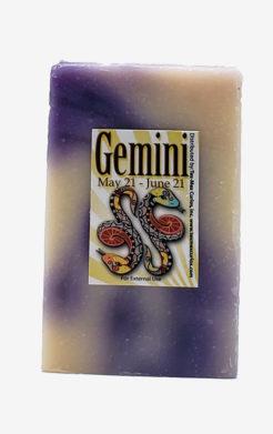 Gemini Zodiac Soap