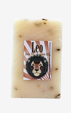 Leo Zodiac Soap