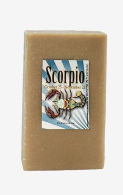 Scorpio Zodiac Soap